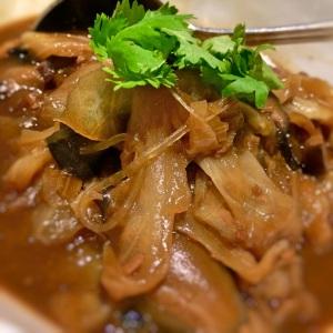 Chap Chye Braised Cabbage, Sweet Beancurd Skin, Pork Belly, Prawn Stock
