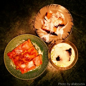 Desserts Banana Roti, Chendol, Coconut Cake
