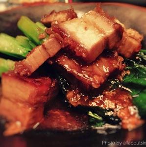 Braised pork with Veg