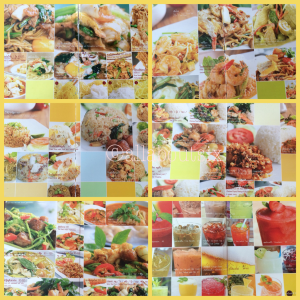 The menu boasts countless types of noodle and rice dishes.